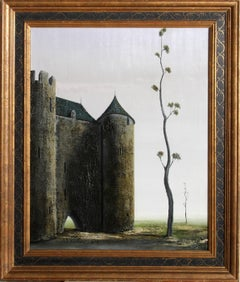 Castle, Oil Painting by Alvaro Guillot