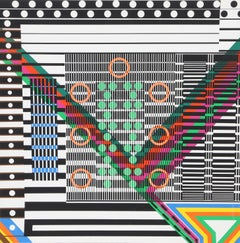 Stacatto, Geometric Abstract by Leo Maranz