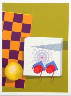 """Checkmate"", Op Art by Rita Simon"