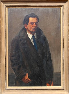 Self-Portrait, Oil Painting by Ben Benn