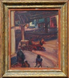 23rd and 2nd Ave painting by Ben Benn 1924