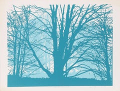 Forest, Serigraph by Roy Ahlgren
