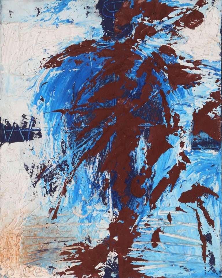 Spirit, Abstract Painting by Antonio Ole