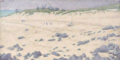 Les Dunes A Theven-Kerbrat, Oil Painting by Laurent Marcel Salinas