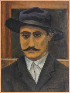 Italian Man from the Ellis Island Series by Laurent Marcel Salinas