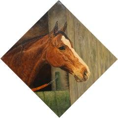 Rama Rama, Horse Painting by Helene Alison