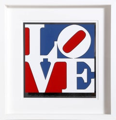 The American Love, by Robert Indiana 1975