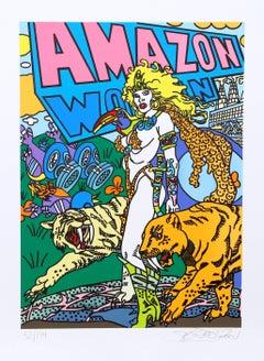 """""""Amazon"""", Pop Art Print by Erró"""