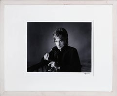 """Rod Stewart"", Framed Photograph by Herb Greene, circa 1966"