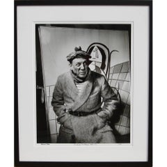 """""""Picasso with Tam"""", Photograph by Richard Ham 1945"""
