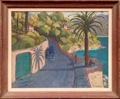 """Italy"" Oil Painting by Kyohei Inukai (aka Earle Goodenow)"
