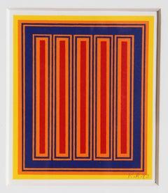 Annual Edition, 1983, Silkscreen by Richard Anuszkiewicz
