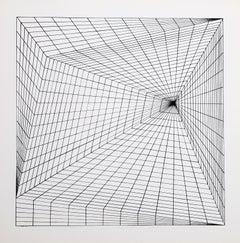 """""""Lineate I"""", 1975, Silkscreen by Roy Ahlgren"""