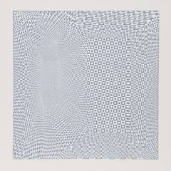 """""""Spatial Concepts IV"""", 1970, Serigraph by Roy Ahlgren"""