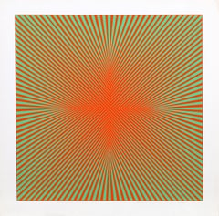 """""""Homage to the Cross II"""", circa 1970, Serigraph by Roy Ahlgren"""