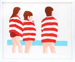 The Beach (Red Stripes)