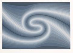 """Starry, Starry Night"", Op Art Serigraph by Roy Ahlgren"