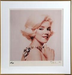Marilyn Monroe: The Last Sitting (Biting Lip), Photograph by Bert Stern