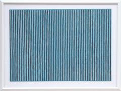 Sonata, Minimalist Stripe Lithograph by Gene Davis