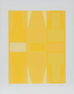 T Series (Yellow), Serigraph by Arthur Boden