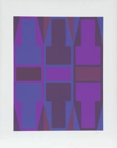T Series (Purple), Serigraph by Arthur Boden
