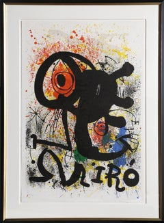 Sculptures et Ceramiques, Framed Lithograph by Joan Miro 1973