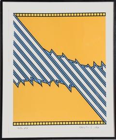 Greensboro, Pop Geometric Abstract by Nicholas Krushenick