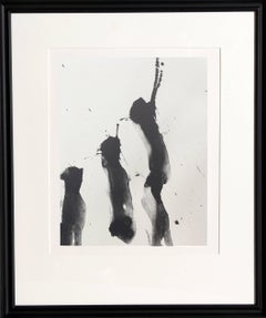 No. 4 from Three Poems, Framed Lithograph by Robert Motherwell