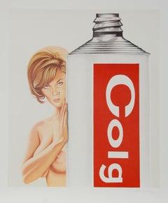 Gardol Gertie, Pop Art Lithograph by Mel Ramos