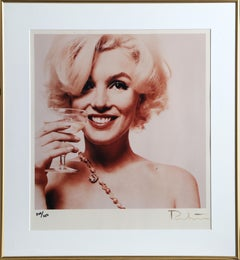 Marilyn Monroe: The Last Sitting (Holding a Cocktail), Photograph by Bert Stern