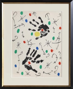 Les Essencies de la Tierra, Lithograph by Joan Miró 1968