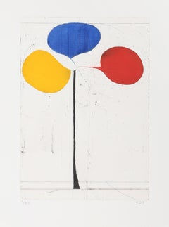 Tri-Color, Aquatint with Etching by Richard Diebenkorn 1981