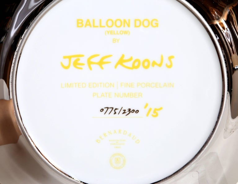Balloon Dog (Yellow) For Sale 3