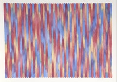 Banjo, Minimalist Stripe Lithograph by Gene Davis