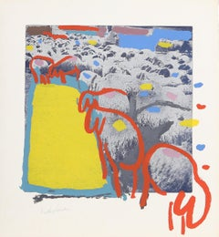 Sheep 1, by Menashe Kadishman