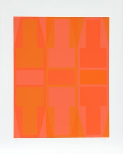 T Series (Orange), Serigraph by Arthur Boden