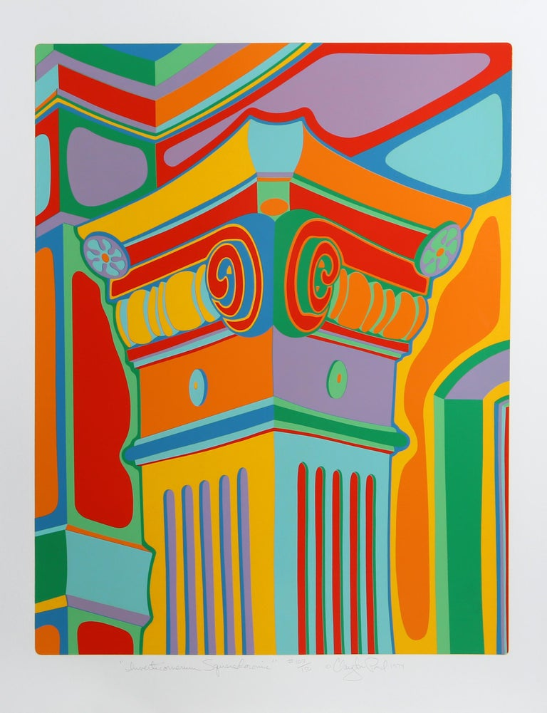 Artist:Clayton Pond, American (1941 - ) Title:Capital Ideas Portfolio Year: 1974  Medium:Suite of Seven Serigraphs, each signed and numbered in pencil Edititon: 150  Size: 37 x 29 in. (93.98 x 73.66 cm)