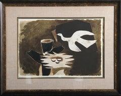 L'oiseau et son Nid, Framed, 1956