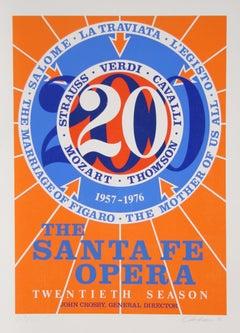 The Santa Fe Opera, Serigraph by Robert Indiana