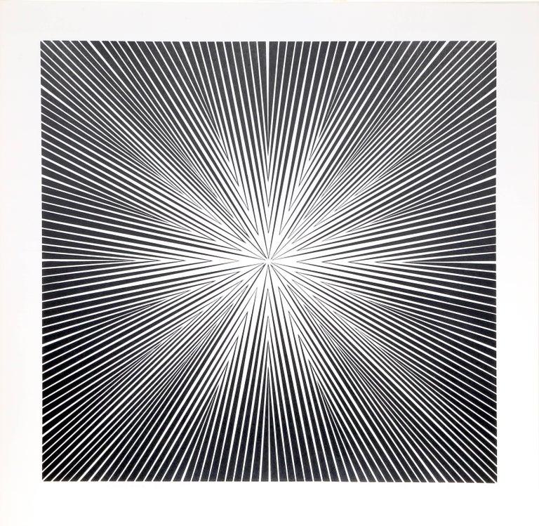 Roy Ahlgren Abstract Print - Energia 1