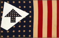 American Flag with Arrows