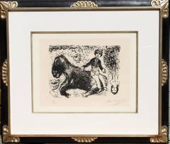 Le Garcon au Cheval (Boy with Horse)