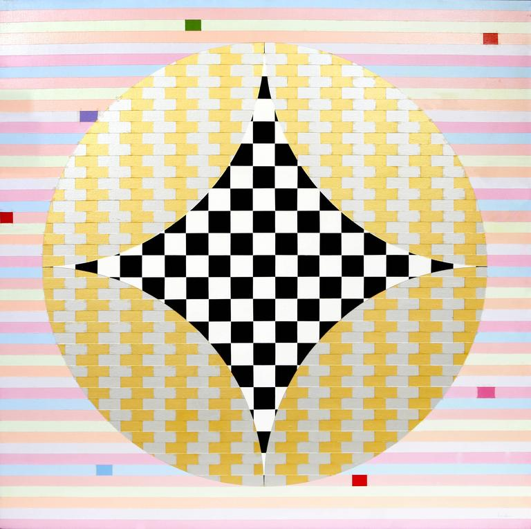 Abstract with Checkers