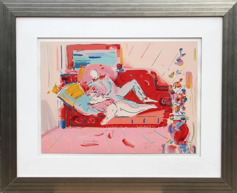 Degas and Woman from Images of an Era Suite, by Peter Max