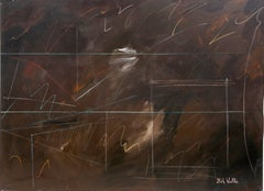 More Afterthoughts 14, Large Abstract Painting by Nick Wallis