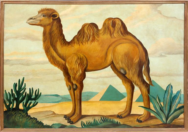 William Skilling Animal Painting - Camel
