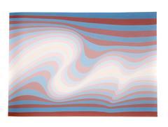 Big Sur, OP Art Silkscreen by Roy Ahlgren