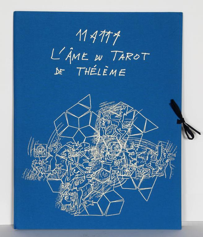 L'ame du Tarot de Theleme Portfolio of 5 Aquatint Etchings by Matta - Print by Roberto Matta