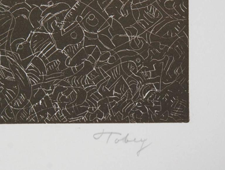 Psaltery, 1st Form - Print by Mark Tobey