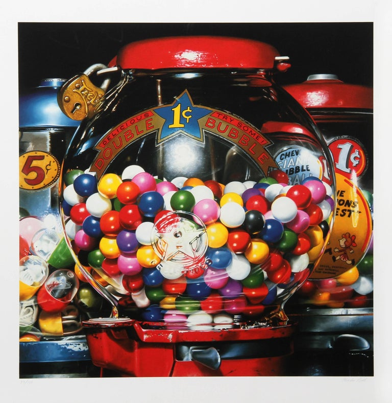 Charles Bell Still-Life Print - Double Bubble